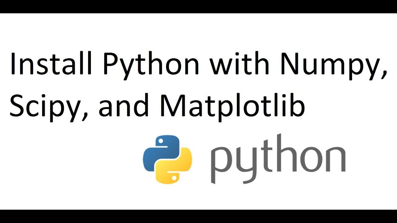 numpy python 3.4 windows