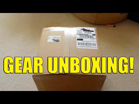 Airsoft Tactical Gear Unboxing