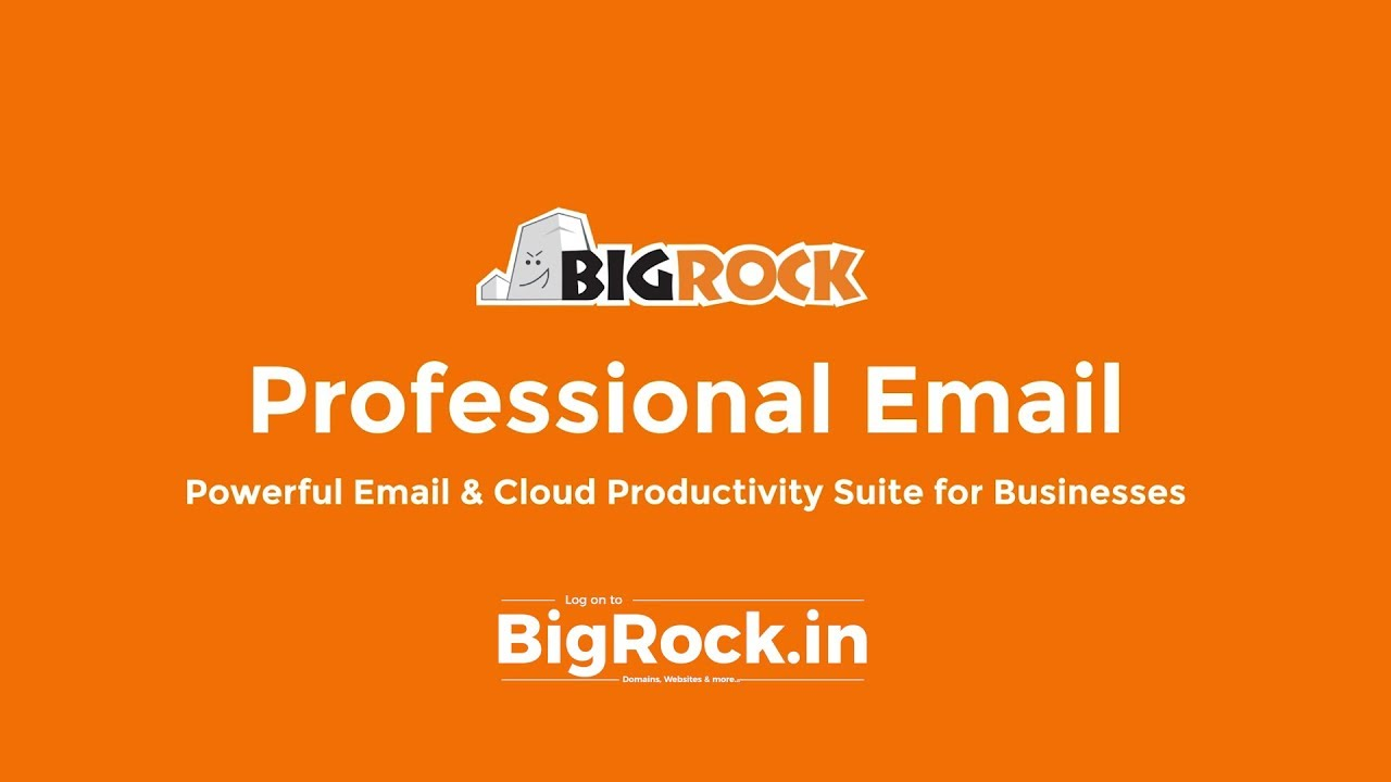 Powerful Enterprise Email Hosting for Businesses | BigRock