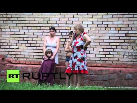 Ukraine: Mortar attack kills two in Slavyansk