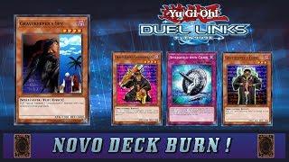 COVEIRO BURN ! Deck Burn muito forte e divertido ! [ YU-GI-OH Duel Links ]