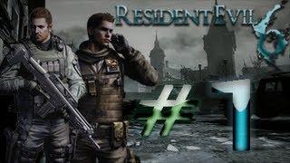 Resident Evil 6 Detonado (Walkthrough) Chris Parte 1 HD