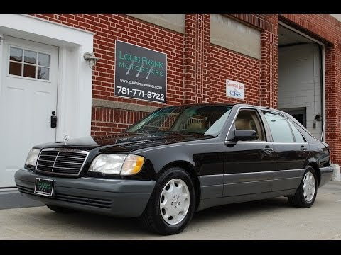 1996 Mercedes Benz S500 Walk-around Presentation at Louis Frank Motorcars, LLC in HD