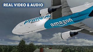 Amazon Air Jet Crashes Just Before Landing in Houston (With Real Audio and Video)