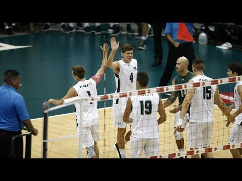 Hawaii Warrior Men's Volleyball 2018 - #6 Hawaii Vs #1 LBSU