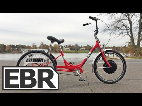 Sun 24″ Traditional Electric Tricycle Video Review - Stable, Simple, Useful