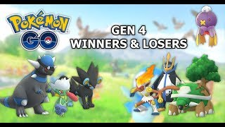 Pokemon GO Gen 4 Winners & Losers | Part 1