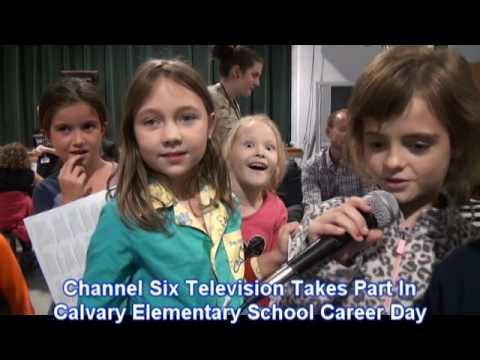 Calvary Elementary School Career Day 10 2016