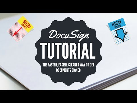 DocuSign: The Faster, Easier, Cleaner Way to Get Real Estate Docs Signed