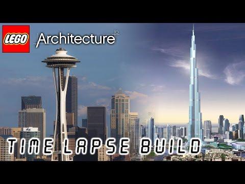 LEGO Architecture - Space Needle / Burj Khalifa