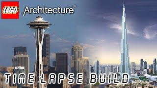 LEGO Architecture - Space Needle / Burj Khalifa