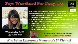 Toya Woodland For Congress