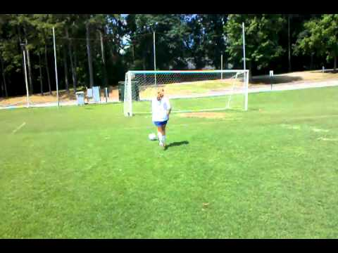 Westminster soccer player Annie Speese