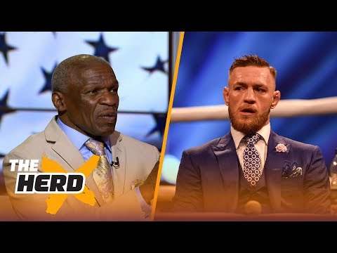 Floyd Mayweather Sr. says they will sue Conor McGregor if he fights dirty | THE HERD