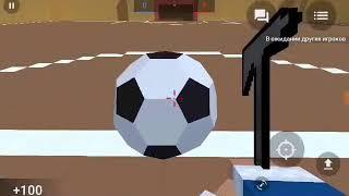 Смешные Моменты в Block Strike (я футбольный мячик)
