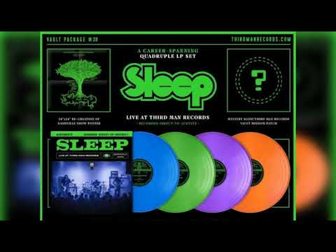 Sleep Live At Third Man Records Vinyl Rip