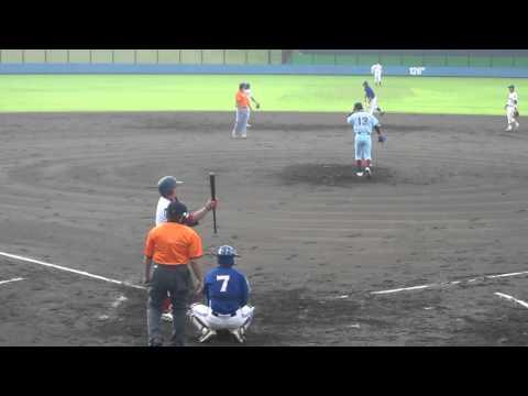 2011/6/19 中後悠平 ( 近畿大 )  vs 山川穂高 ( 富士大 )