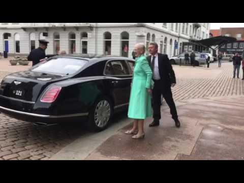 Queen Margrethe ll & Henrik, Prince consort of Denmark