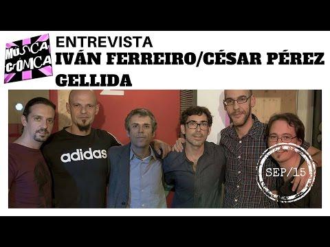 Entrevista a IVÁN FERREIRO y CÉSAR PÉREZ GELLIDA con acústico