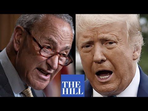 Chuck Schumer ROASTS Donald Trump and GOP for voter suppression legislation