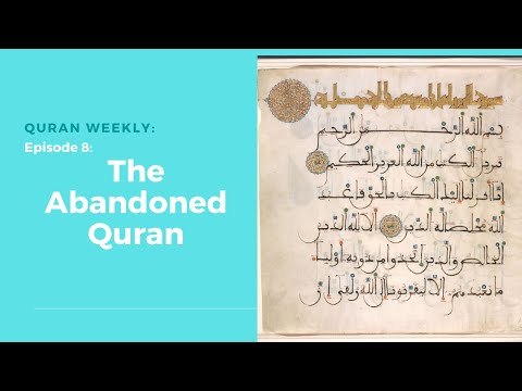 Quran Weekly: The Abandoned Quran | Sheikh Azhar Nasser