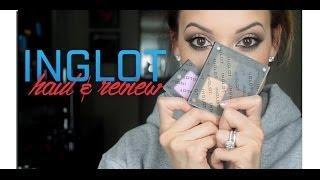 HUGE Inglot Haul+Review!