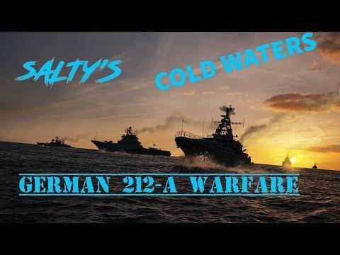 COLD WATERS 212-A --- GERMAN SUB WARFARE