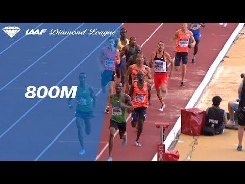 Nijel Amos 1.42.14 Wins Men