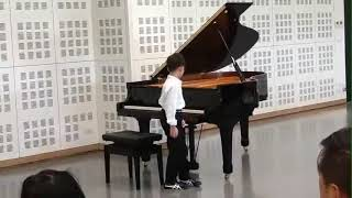 Bach Invention No.12 by Napat Ruankaew