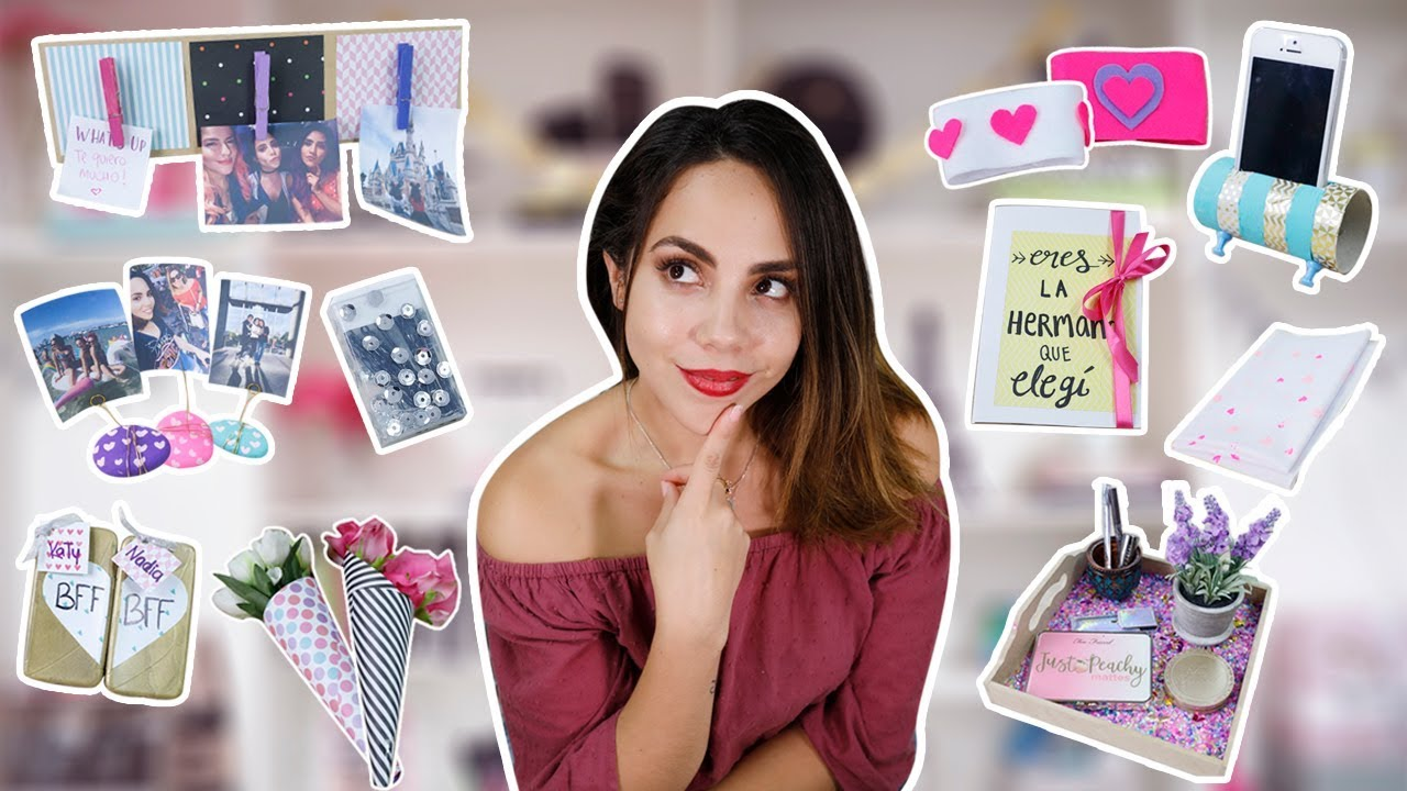 67183407a 10 REGALOS PERFECTOS PARA TU MEJOR AMIGA | What The Chic - YouTube
