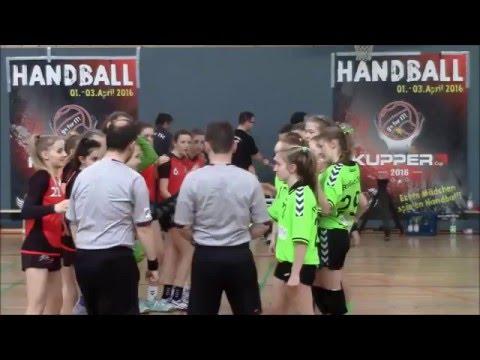 Kupper Cup 2016_HSG Hannover-Badenstedt vs. Berliner TSC (5. Platz)