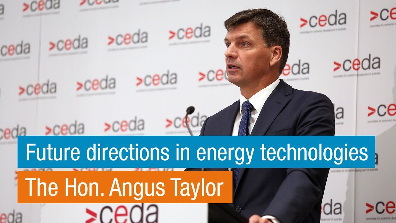 Download Angus Taylor | Future directions in energy technologies