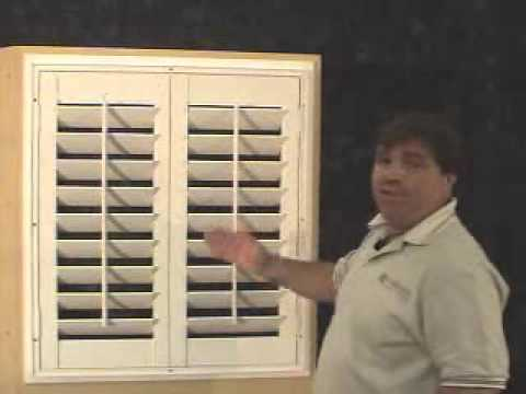 Install L Frame Norman Shutters Youtube