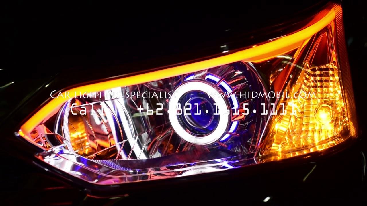 Harga Headlamp Grand New Veloz Avanza E Vs G Toyota Angel Eyes Hid Drl 2016 2018