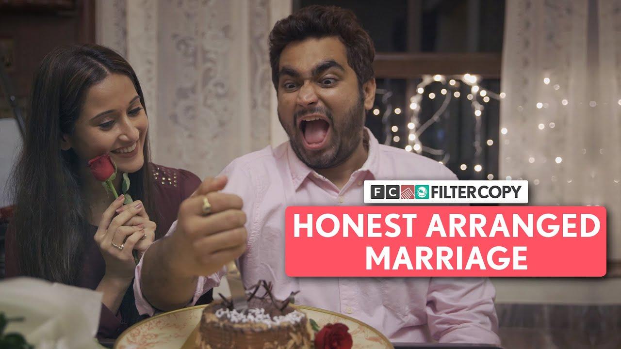 Download FilterCopy   Honest Arranged Marriage   Ft. @That's So Viraj , Saadhika Syal and Kavita Waadhawan