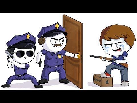 Я стал участником преступления (Анимация)