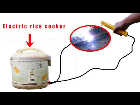 How To Turn A Rice Cooker Into A Soldering Iron