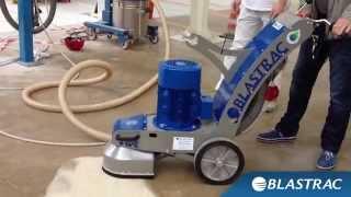 Irruvidimento pavimentazione in calcestruzzo | Blastrac Levigatrice BG 250