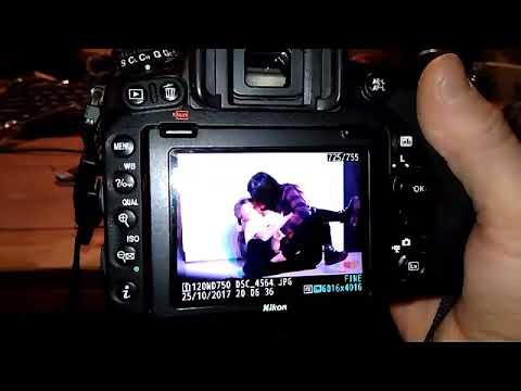 Nikon D750 Err - ошибка работы затвора и затемнение блики
