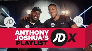 Anthony Joshua's Ultimate Playlist with Stevo The Madman and JDX