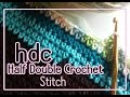 Vol 39 - How to crochet a Half Double Crochet stitch or hdc