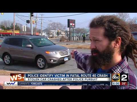 Police identify victim in fatal Route 40 crash