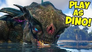 IMPOSSIBLE! - Play As Dino Extinction Creatures! - Ark Extinction Gameplay