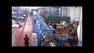 HDPE PIPES EXTRUSION LINE