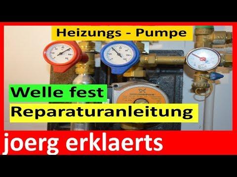 Top Heizungspumpe defekt - Reperaturanleitung Umwälzpumpe reparieren EM33