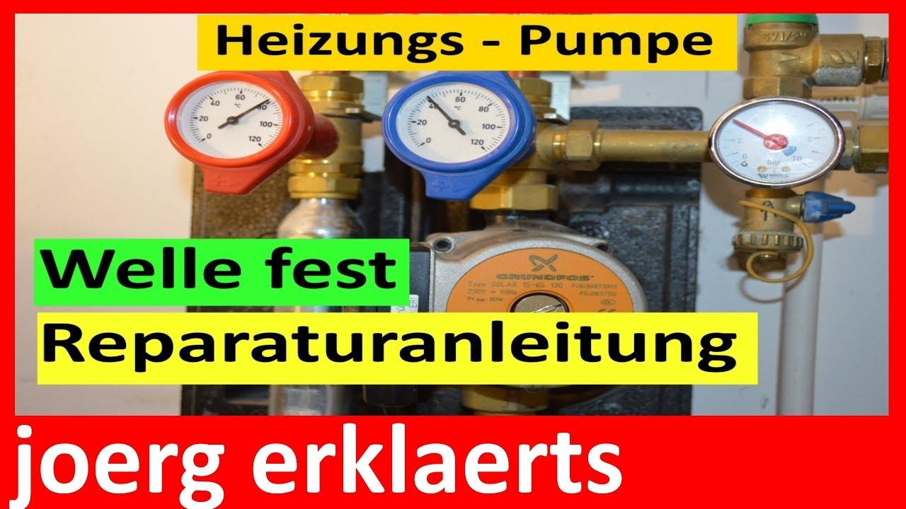 Top Heizungspumpe defekt - Reperaturanleitung Umwälzpumpe reparieren EH05