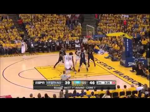 Pelicans vs Warriors | Full Game Highlights | Game 1 | April 18, 2015 | 2015 NBA Playoffs