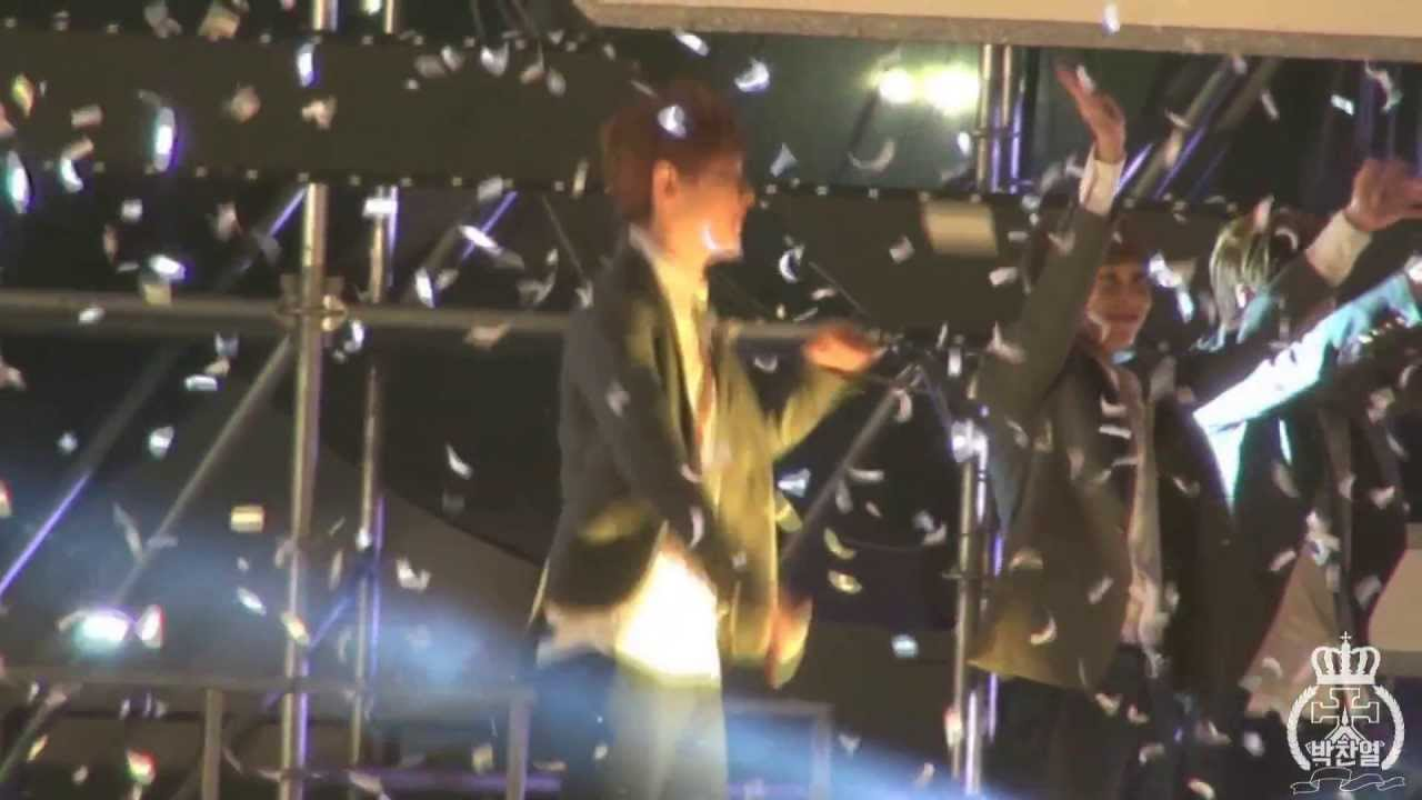 131009 Asia song festival 비글 대마왕 박찬열 모실게요~ - YouTube