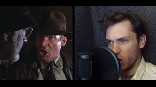 Indiana Jones: Harrison Ford & Sean Connery Impressions (voice match)