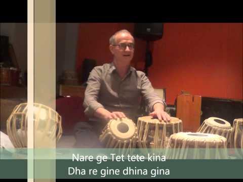 Tabla lesson 6 by john Boswell dha re ge...